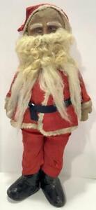 "Antq c1890s German Santa Claus Doll 26"" Hard to Find"