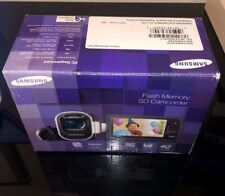 NEW Samsung F40 Ultra Zoom Camcorder -Red