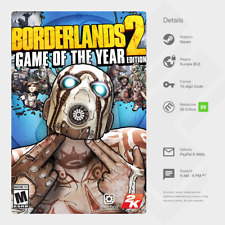 Borderlands 2: Game of the Year Edition (PC / MAC / LINUX) - Steam Key [EU]