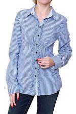Gestreifte Figurbetonte Damenblusen,-Tops & -Shirts im Blusen-Stil ohne Mehrstückpackung