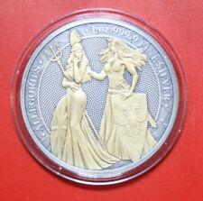 "Germania Mint 5 Mark 2019 "" Allegories of Britannia & Germania"" #F3602 nur 250"