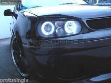 VW Golf 4 IV MK4 MK Headlamp Eyebrows Eyelids Pair set eye brow lid masks abs R