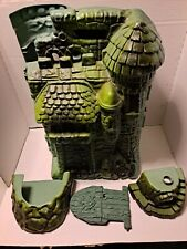 Mattel Grayskull 5.5 inch Playset has some parts. HE-MAN NEEDS A HOME.???