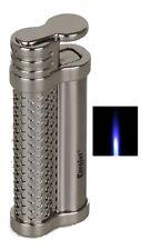 Eurojet Feuerzeug Jetflamme Hot Silver