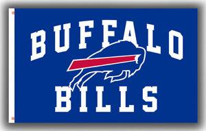 Buffalo Bills Football Team Memorable Flag 90x150cm3x5ft Fan Apparel best banner