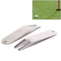 pitch repair divot switchblade tool golf ball marker mark green golfer kit  JR