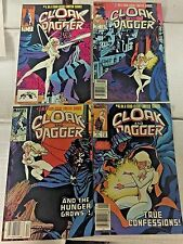 CLOAK AND DAGGER #1-4, first mini series MARVEL Comics, FREE SHIPPING