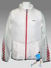 New REEBOK Training Day Zig Lite Running Cycling Jacket White M