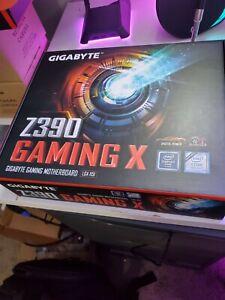 Gigabyte z390 Gaming X LGA 1151 Motherboard RGB 8th + 9th Gen Intel