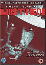 Justified - Season 2 [DVD], Good DVD, Timothy Olyphant, Natalie Zea, Nick Searcy