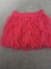 Girls Pink Tutu Skirt From Gap Age 4-5