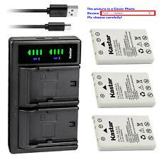 Kastar Battery LTD2 Charger for Nikon EN-EL5 MH-61 & Nikon Coolpix P100 Camera