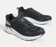 Hoka One One Clifton 6 Womens Neutral Road Running Trainers Black/Gold UK Size 6