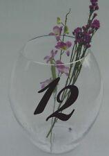 Wedding Table Numbers 1-10,15,20,or 25 Centerpiece Vinyl Sticker Decals (b)