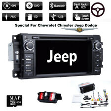 Car Dash DVD Player GPS Stereo Radio For Jeep Grand Cherokee/Chrysler/Dodge Ram