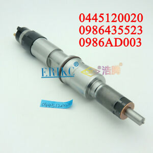 ERIKC Fuel Injector 0445120020 for Bosch Engine RENAULT Kerax 370 Premium Route