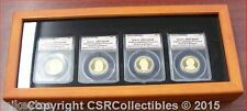 2008 S Presidential Dollar Proof Set - ANACS PR70 DCAM - 4 Coins in Display Box