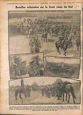Cavalry Cossack Imperial Russian Army Galicia Poland Bucovine Bucovina 1916 WWI