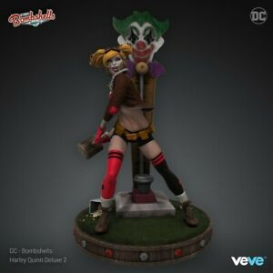 VEVE Rare Harley Quinn Deluxe 2 NFT Sold Out limited edition 1705 of 6666
