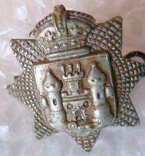 Badge- VICTORIAN East Surrey Regiment Collar badge (All WM, Org**)