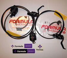Formula - Brake System R0/RO Racing MY18 Matte black Pull M.C. Front + rear -NEW