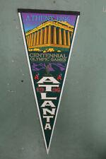 1996 Olympic Centennial Games Vintage Pennant Atlanta