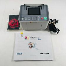 Epson PictureMate 260 Personal Photo Lab Digital Photo Printer and photo paper!