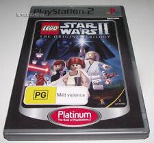 Lego Star Wars II 2 The Original Trilogy PS2 (Platinum) PAL *Complete*