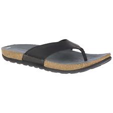 8392cf286388 Men s Merrell Downtown Thong Sandal Black 8  NLQUZ-M638