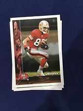 """1995 Bowman Football #100 Jerry Rice Lot of 113 Cards No """"Rice"""" on Front Variety"""