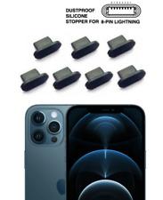 7-stk iPhone 12 PRO MAX Ladebuchse Verunreinigungen Staub Schutz Stecker Stöpsel