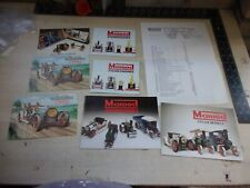 Mamod - Live Steam - Selection Of Literature & Booklets - Very Good Condition