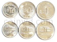 Sudan 3 coins set 1989 (#1071)