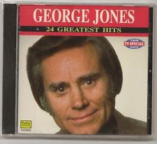 "GEORGE JONES, CD ""24 GREATEST HITS"", NEW SEALED"