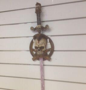 Gothic Snake Skull Taboo Sword
