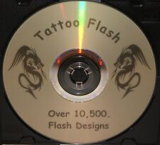 10500 Tattoo Flash Design DVD Copy Stencil Tribal Celtic ect. Picture Images