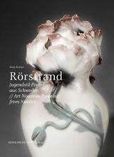 Fachbuch Rörstrand Jugendstil-Porzellan aus Schweden OVP tolle Fotos