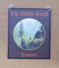 1:12 scala medio Earth Tavern PUB segno DOLLS HOUSE miniatura ACCESSORIO BAR