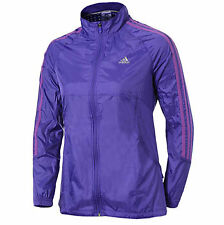 Adidas Response Womens Wind Running Jacket - Purple