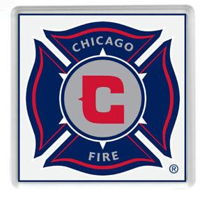 CHICAGO FIRE FC MAJOR LEAGUE SOCCER , Acrylic Coaster