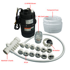 Bathtub system, air blower and jet manifold ,hose for spa hot tub and whirlpool