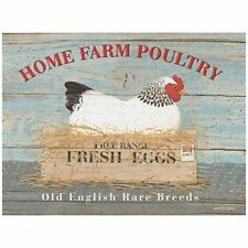 Rare Breed Hen advertising sign 20x30cm Home Farm Poultry metal wall plaque