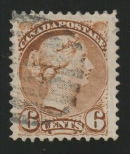 Canada 1890 #43iv Small Queen Issue - F/VF Used