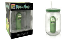 SDCC 2019 Exclusive UCC Rick and Morty Pickle Rick in Pickle Jar Glass Cup