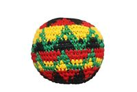 One Hacky Sacks Juggling Balls Footbag Rasta Made In Guatemala Magic Toy