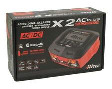 HRC44270 Hitec X2 AC Plus Black Edition AC/DC RC Remote Control Battery Charger