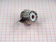 PL ( UHF SO 239 ) Einbaubuchse Zentralloch Montage Lötversion
