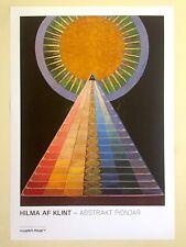 HILMA AF KLINT LITHOGRAPH PRINT MODERNA MUSEET EXHBT POSTER ALTARPIECE NO.1 1915