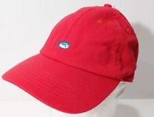 Southern Tide Skipjack Red Adjustable Unstructured Hat Cap - L