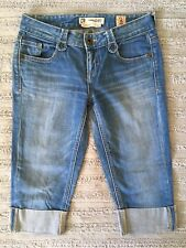 Chip And Pepper Production Women's/Youth Calibasas Cuffed Capri Jeans Sz 1